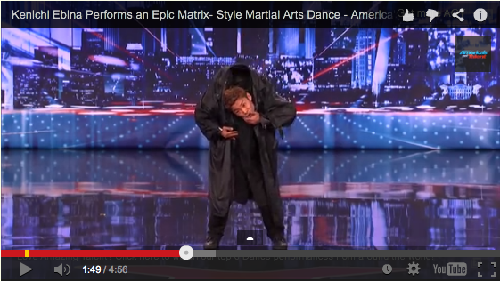 Kenichi Ebina Performs an Epic Matrix-